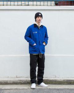 18 Nice Blue Hooded Carhartt