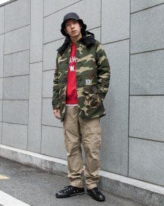 19 Army Style Slick Carhartt
