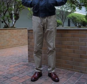 19 Dark Brown Boots & Blue Jacket