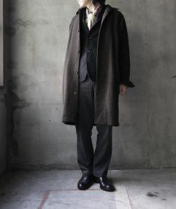 2 Black Long Coat & Black Trousers