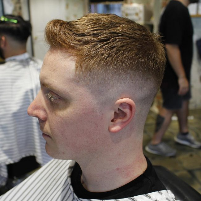 2 Choppy Taper Fade
