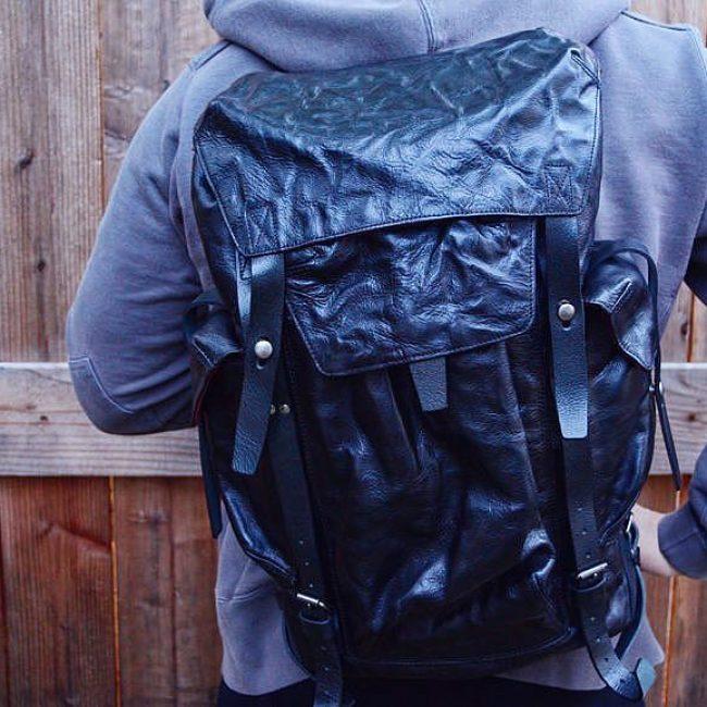2 Phantom Black Backpack & Grey Hoodie