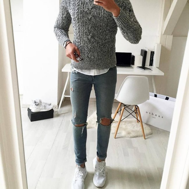 2 Ripped Slim Fit