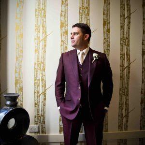 20 Maroon 3-Piece Suit