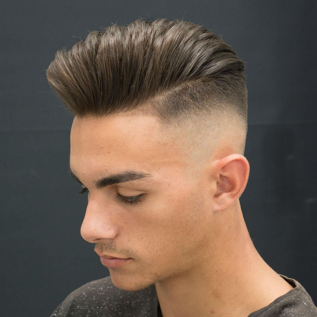 20 Pomp And Skin Fade