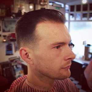 21 Low Bald Fade