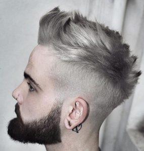 21 Rockers Platinum Blond Style