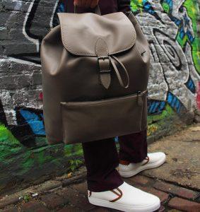 22 Stylish Buckle Style Backpack
