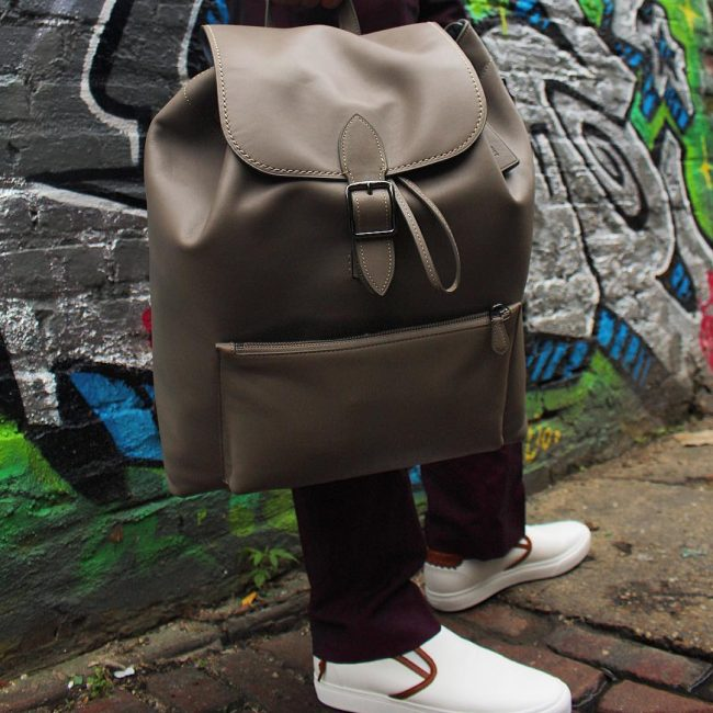 22 Stylish Buckle Style Backpack