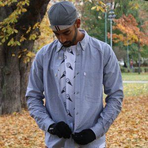 22 Ultra Fit Grey Shirt