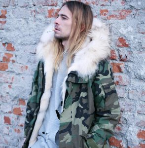 23 Camouflage Print Parka