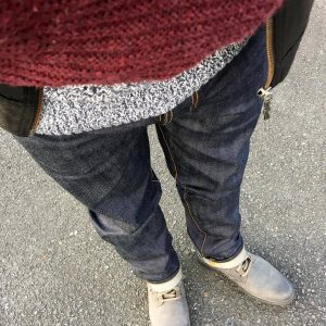 23 Dry Grey Jeans & Light Grey Boots