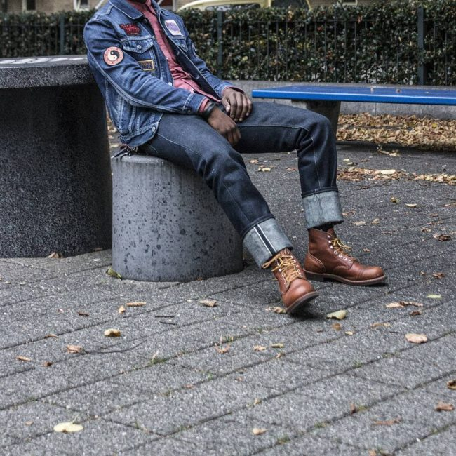 23 Red Wings and Selvedge Jeans