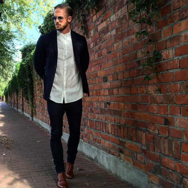 23 Slick Casual Look for Men