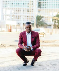 24 A Fitting Maroon Suit