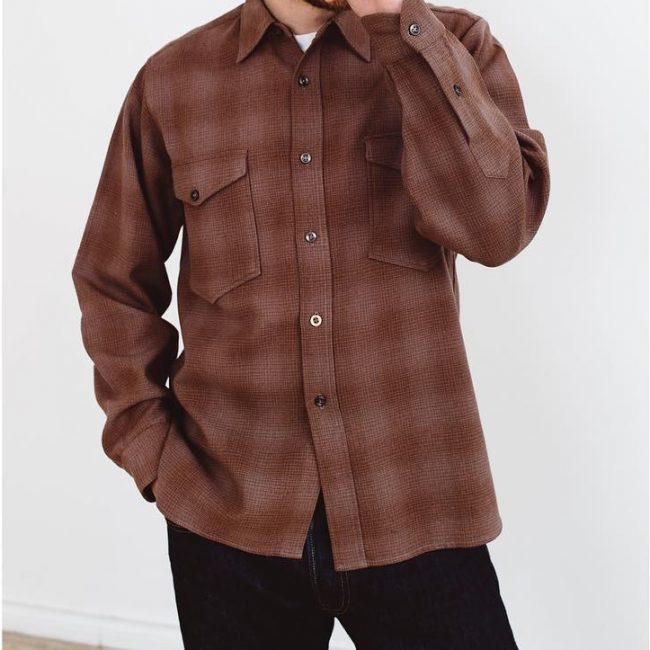 24 Chocolate Brown Plaid