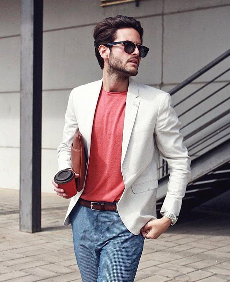 45 Ways To Style White Blazer For Men Dress To Kill