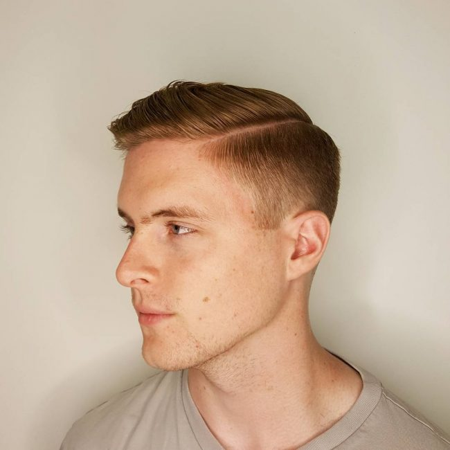 24 Gold Blonde Tapered Cut