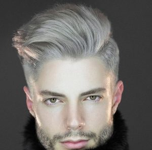 25 Blond Styled Semi-Undercut