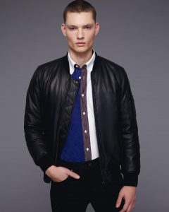 25 Leather Bomber Jacket