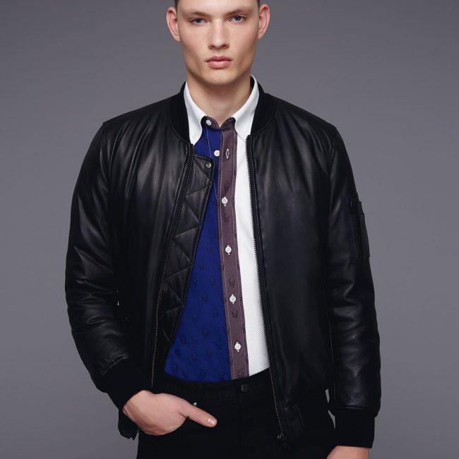 25 Leather Bomber Jacket