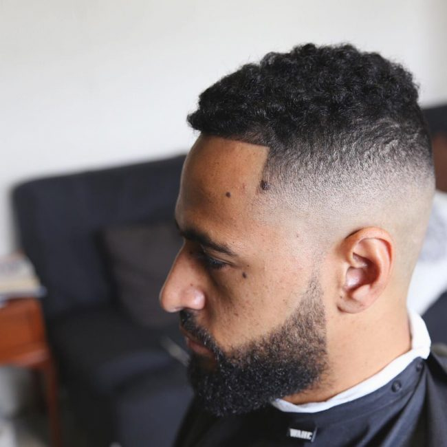 25 Razor Faded Sponge Curls