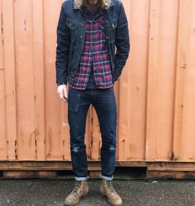 25 Spiced up Flannel Shirt and Jeans Suit