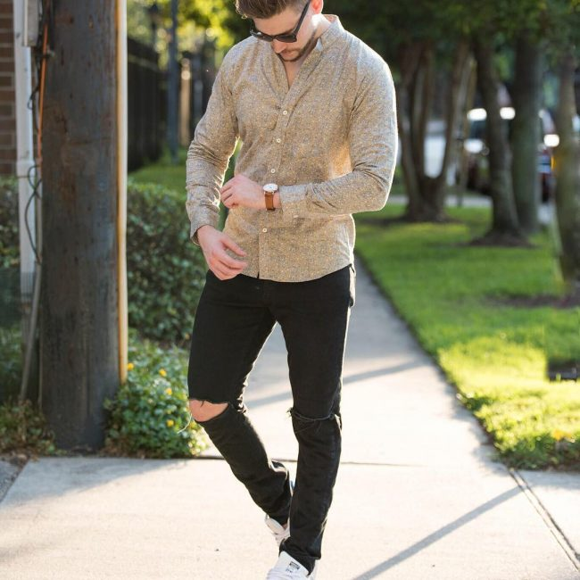25 The Mandarin Collar Shirt