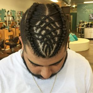 26 Crisscrossing Cornrows