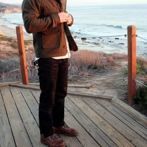 26 Dark-Toned Raw Selvedge