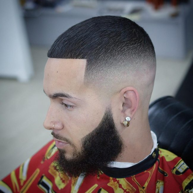 26 Impeccable Fade and Shape-Up