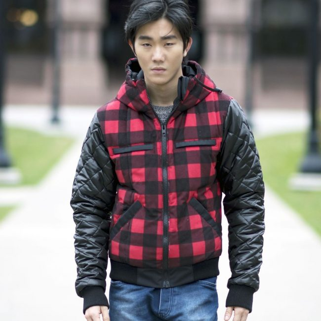 26 Red and Black Men's Winter Jacket