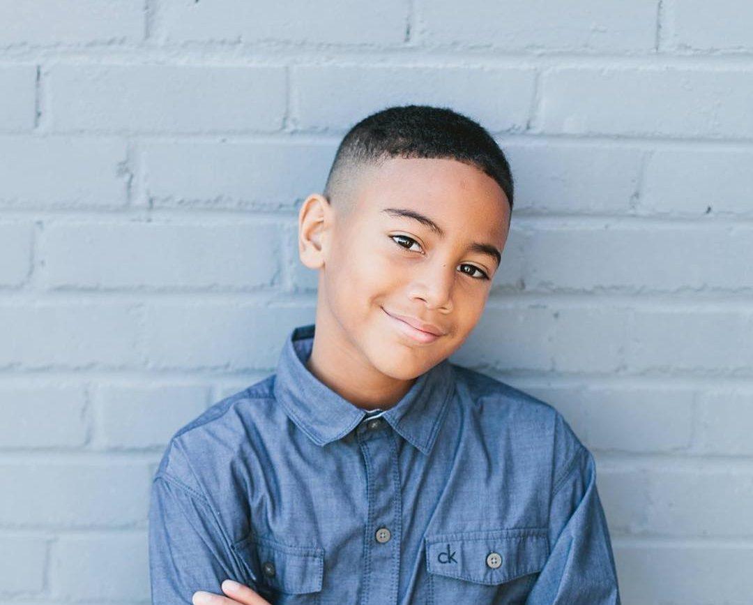 30 Marvelous Black Boy Haircuts For Stunning Little Gentlemen
