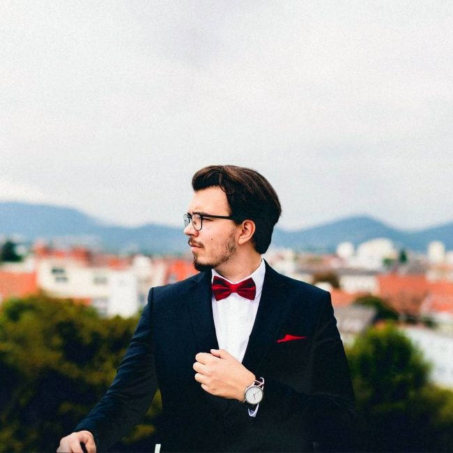 27 Slick Wedding Look