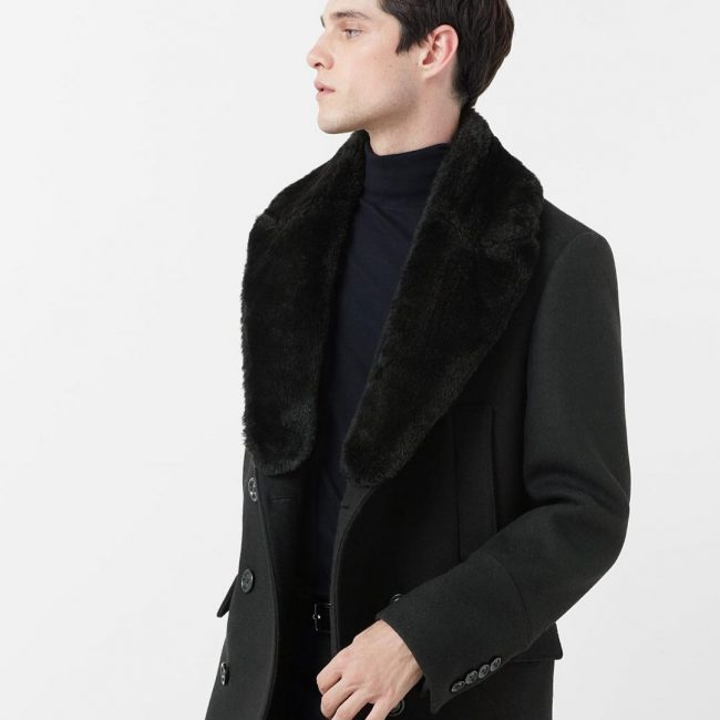 27 Tailored Black Long Coat