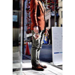 28 Dark Brown Shoes & Maroon Fitting Blazer