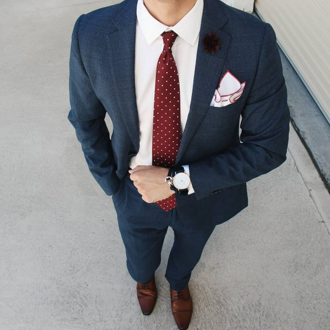 28 Terrific Wedding Suit With A Lapel Flower