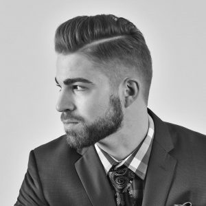 29-adorable-hard-parted-and-tapered-pompadour