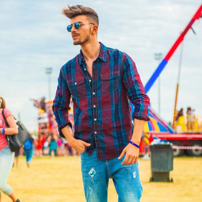 29 Flannel Shirt and Jeans