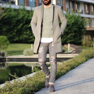 29 Grey and White Street Style
