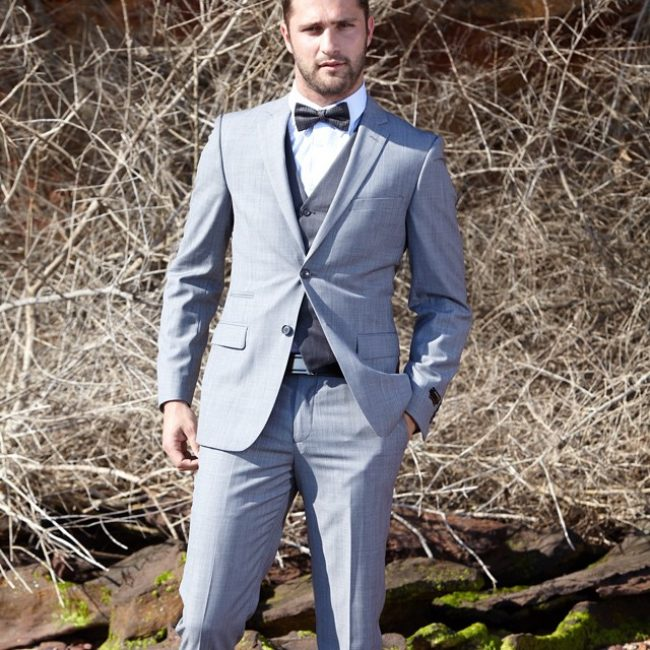 29 Waistcoat-Bow Tie Combination