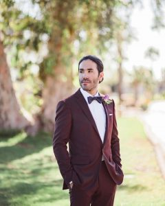 3 A Fitting Maroon Suit