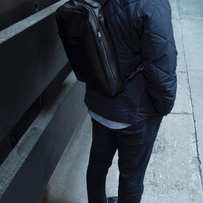 3 Black Backpack & Fitting Blue Jeans Pants