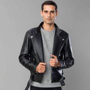 3 Black Leather Perfecto