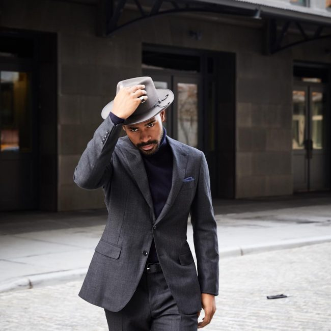 25 Grey Suit And Black Shirt Combinations - The Perfect Formal Look