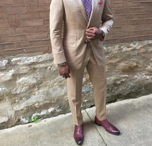 3 Light Brown Suit