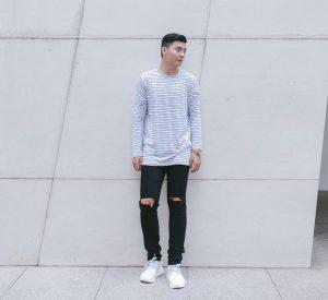 3 Rugged Skinny Jeans