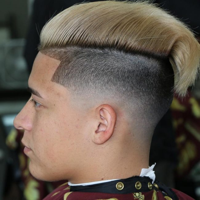 3 Undercut Low Bald Fade