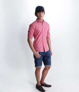 3 With Cut-Off Mens Denim Shorts