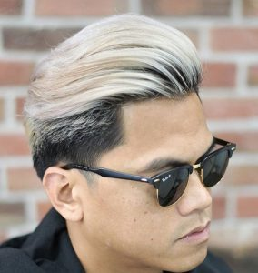 30 Back Wave With Styled Temples